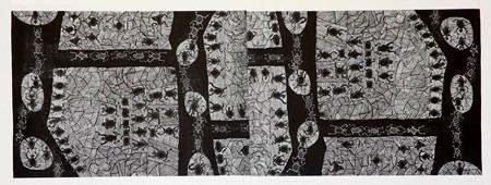 En-Amerindia-555 x 150 cm-2003