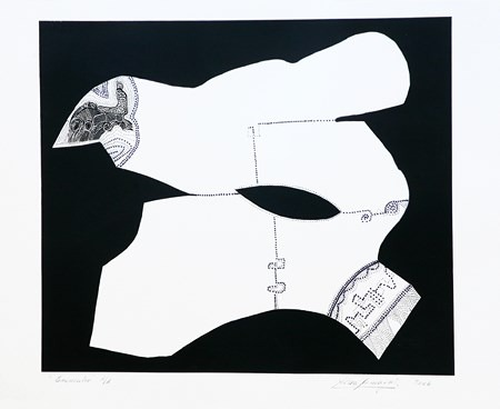 Encuentro-76 x 95 cm-2006