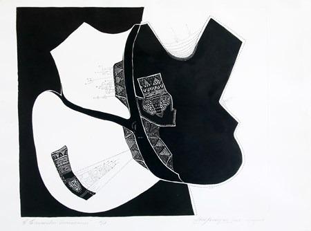 Encuentros-Americanos-II-aguafuerte-76 x 95 cm-2005