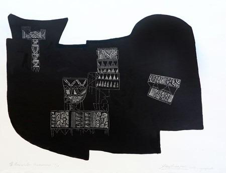 Encuentros-Americanos-IV-aguafuerte-76 x 95 cm-2005