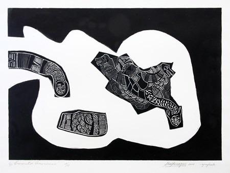 Encuentros-Americanos-VI-aguafuerte-75 x 95 cm-2006