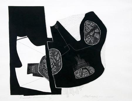 Encuentros-Americanos-aguafuerte-76 x 95 cm-2005