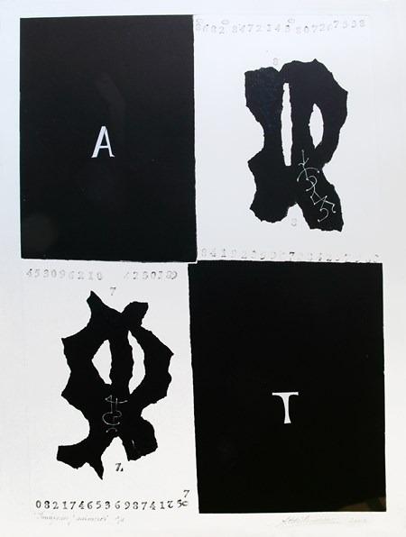 Imágenes-y-números-95 x 76 cm-2002