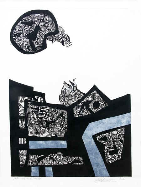 -Más-allá-de-la-tierra-95 x 76 cm-2003