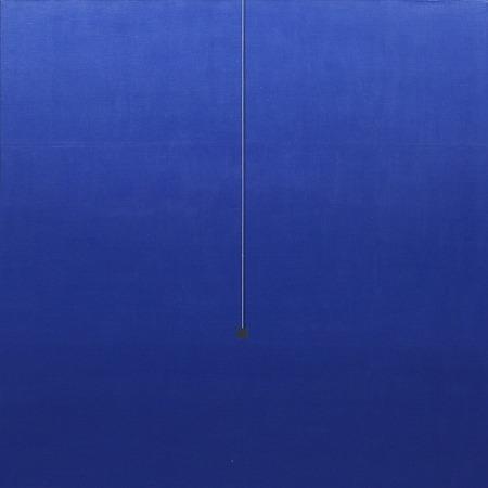 Azul 41 - acrílico sobre tela - 100cm x 100cm - 2004