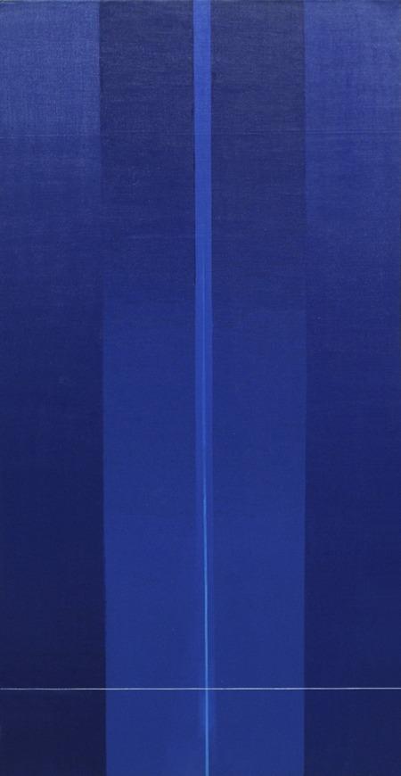 F 1 - acrílico sobre tela - 100cm x 50cm - 1999