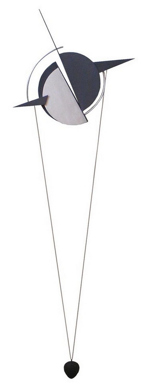 Cortese-Franco-amuleto-per-lo-spacio-nº3-hierro-brunido-piedra-y-arcilla-158cm-x-70cm-x-9cm-2001