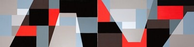 America andina - acrílico s/tela - 300 x 80 cm - 1996