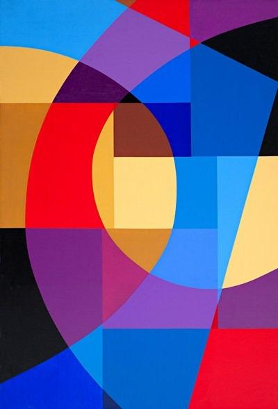 Dans - acrilico sobre tela - 89 x 130 cm - 2002