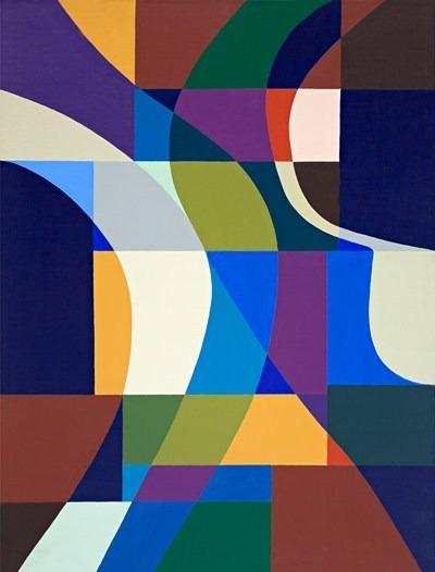 Danse - acrilico sobre tela - 89 x 116 cm - 1992