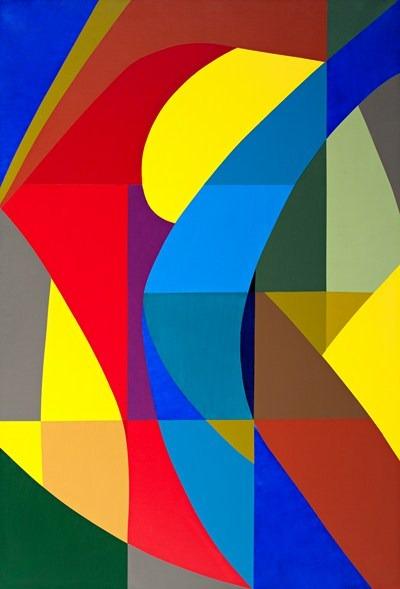 Danza - acrilico sobre tela - 129,5 x 88 cm - 2002