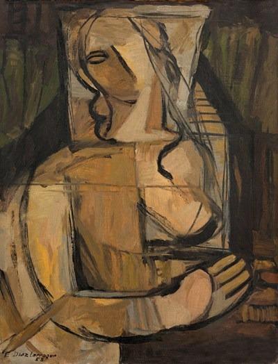 Figura - oleo - 60 x 80 cm - 1953