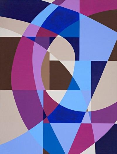 Homenaje a Debussy- acrilico sobre tela - 89 x 116 cm - 1992