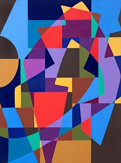 Jazz - acrilico sobre tela - 97 x 130 cm - 1992