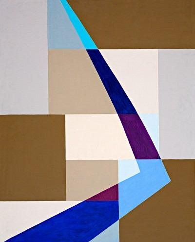 Lumiere Bleu - acrilico sobre tela - 80 x 100 cm - 1995