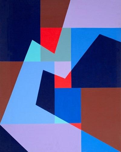 Lumiere - acrilico sobre tela - 81 x 100 cm - 1992