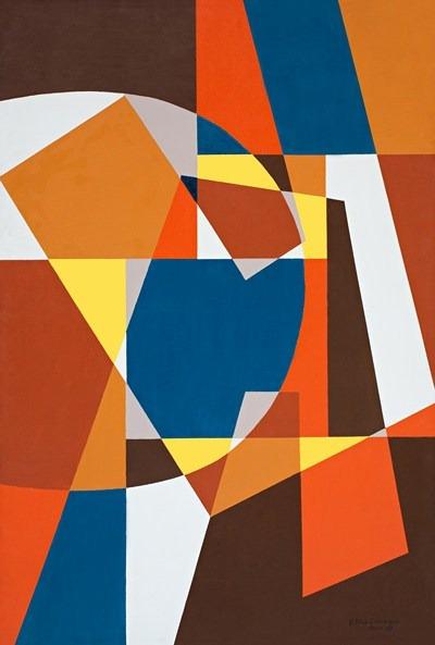 Otoño - acrilico sobre tela - 90 x 130 cm - 1992