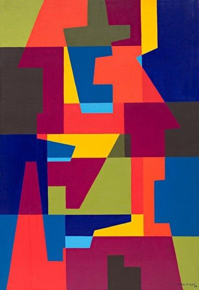 Perou - acrilico sobre tela - 90 x 130 cm - 1992