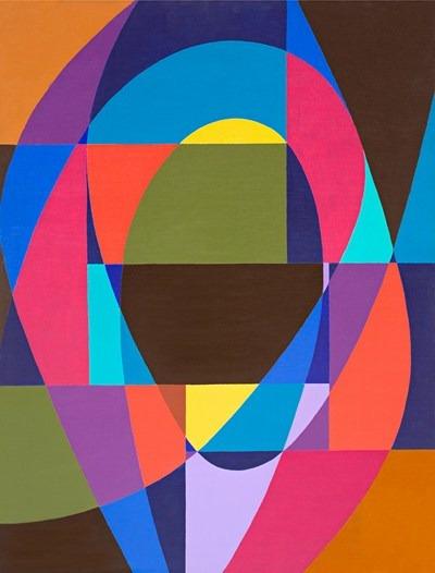 Rithmes- acrilico sobre tela - 89 x 116 cm - 1992