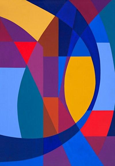 Ritmos - acrilico sobre tela - 81 x 116 cm - 1992