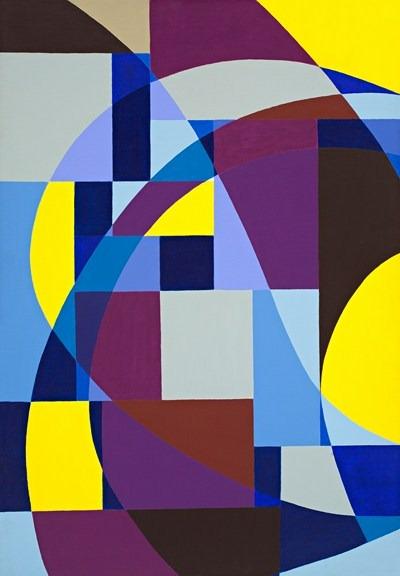 Ritms - acrilico sobre tela - 81 x 116 cm - 1994
