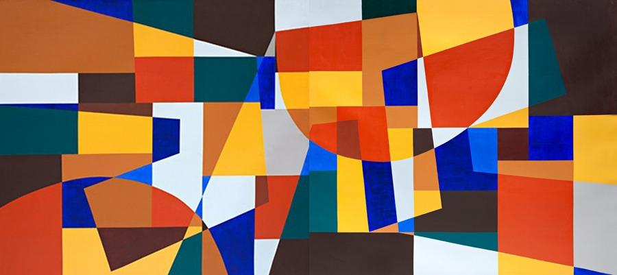 Soles - Díptico- acrilico sobre tela - 1998