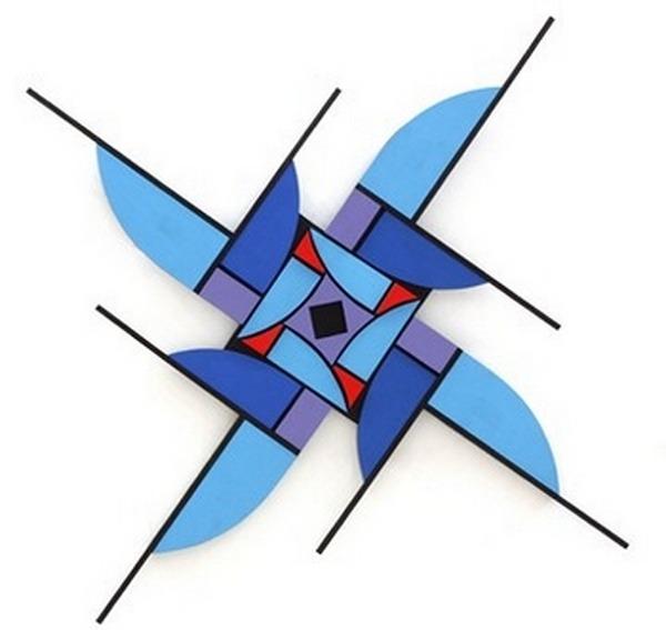 Fulchignoni-Aldo-giochi-d´archi-ecorde-esmalte-al-agua-y-acrílico-sobre-madera-90cm-x-90cm-2000