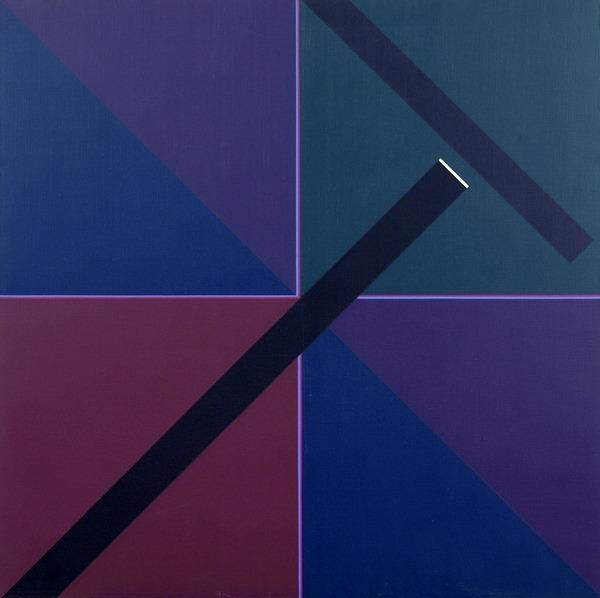Sin título - acrílico sobre tela - 100cm x 100cm - 1986