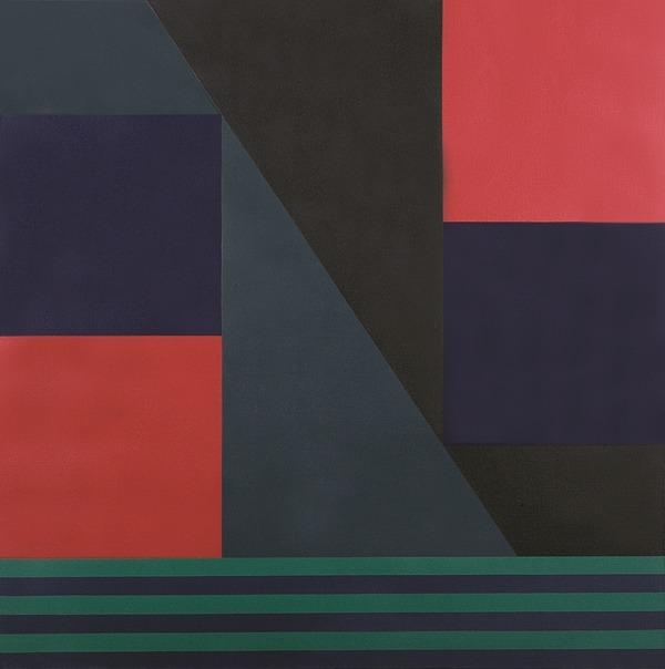 Sin título - acrílico sobre tela - 100 x 100cm - 1991
