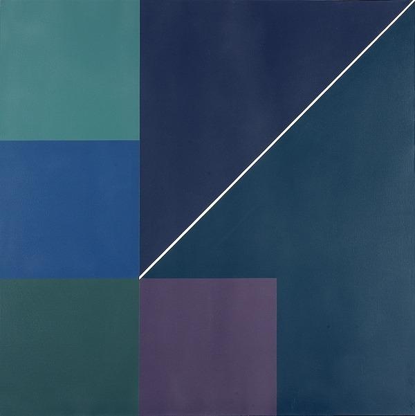 Sin título - acrílico sobre tela - 100cm x 100cm - 1992