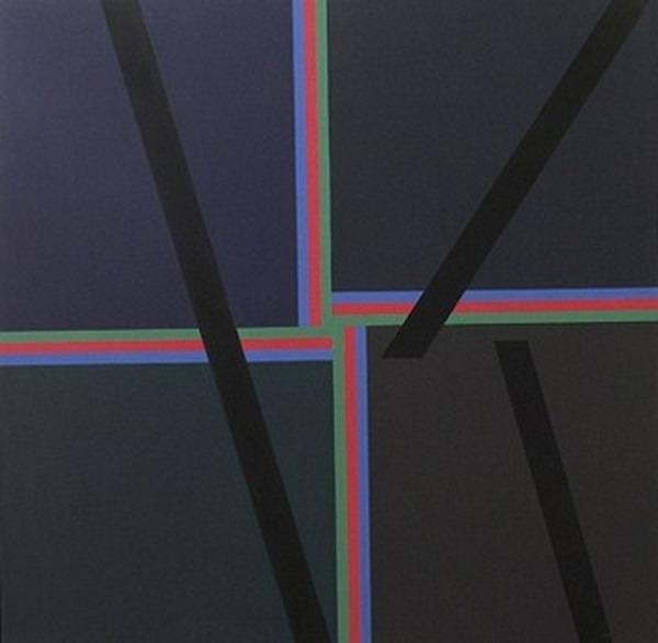 Sin título - acrílico sobre tela - 120 x 120 cm - 1988