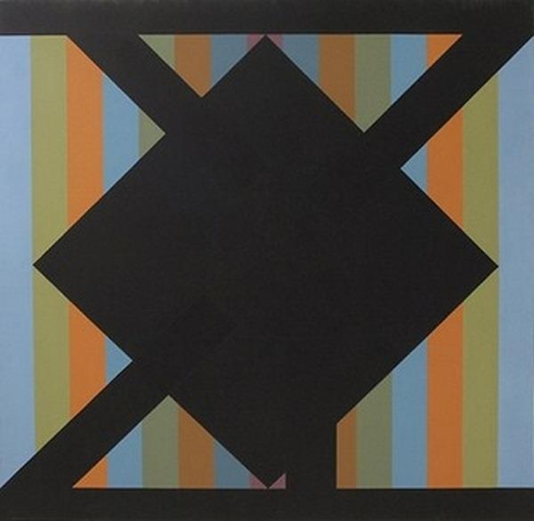 Sin título - acrílico sobre tela - 150cm x 150cm - 1982