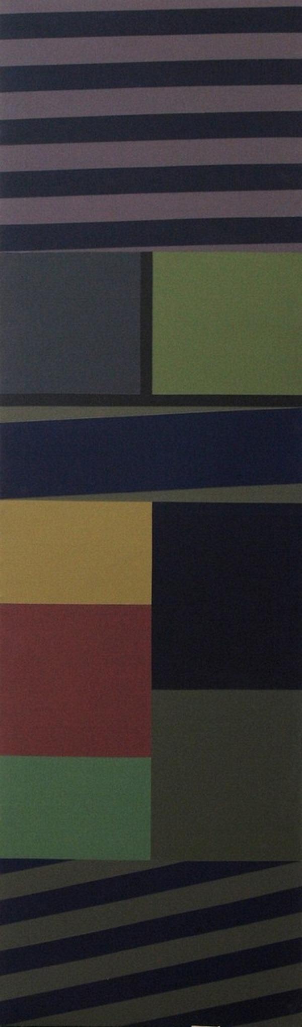 Sin título - acrílico sobre tela - 169cm x 50cm - 1995