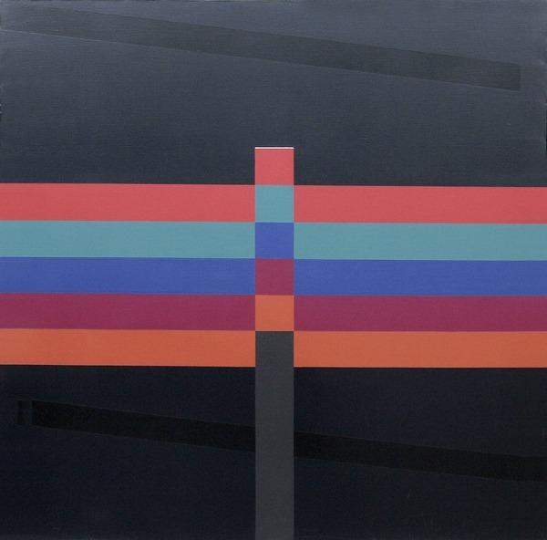 Aout 1988 - acrílico sobre tela - 100 x 100 cm - 1988