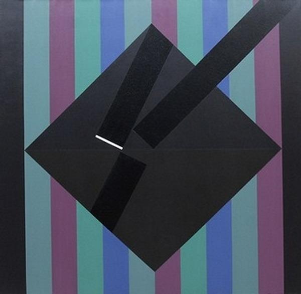 I - acrílico sobre tela - 100cm x 100cm - 1983