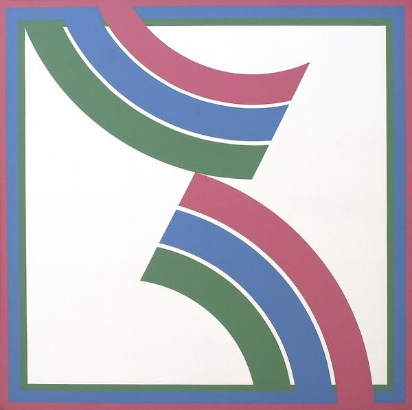 I - acrílico sobre tela - 150cm x 150cm - 1975