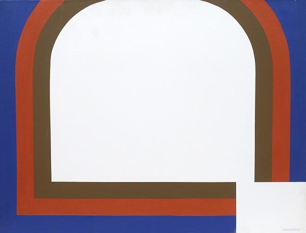 Issue Nº 6 - acrílico sobre tela - 65cm x 50cm - 1971