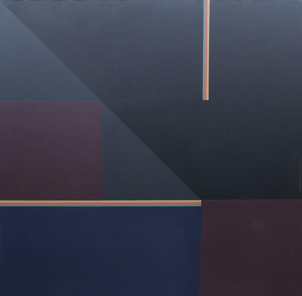 Javea - acrílico sobre tela - 100cm x 100cm - 1991