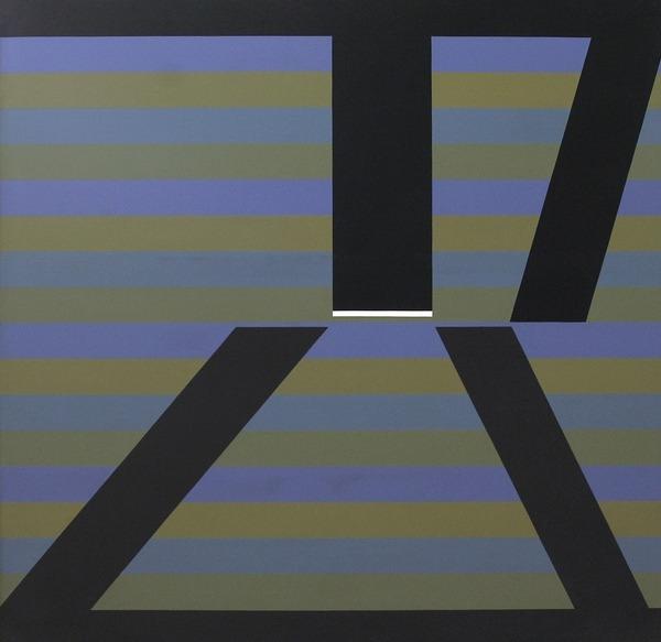 VIII - acrílico sobre tela - 150cm x 150cm - 1983