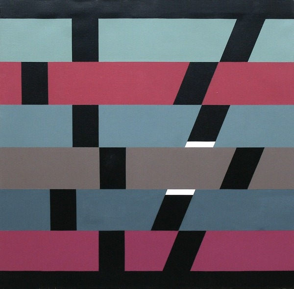 XXI - acrílico sobre tela - 80cm x 80cm - 1981