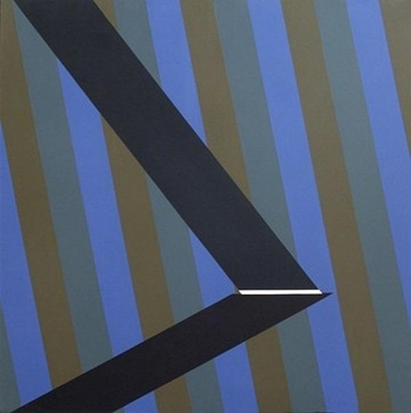 Aout - acrílico sobre tela - 100 x 100 cm - 1990