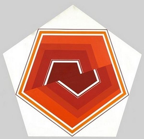 Mitsouko-Mori-pentagone-acrílico-sobre-tela-137cm-x-137cm-x-7cm-1994