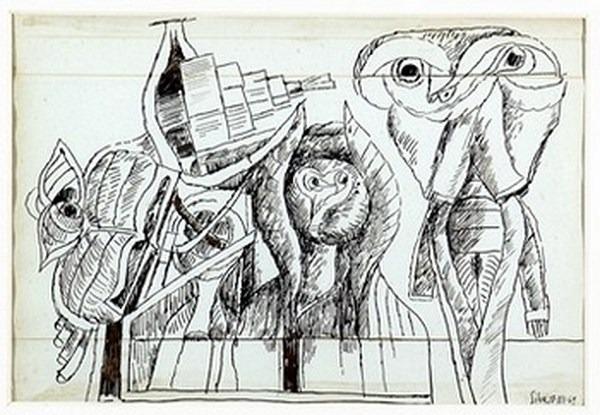 Silva Julio - Libro de quejas - tinta sobre papel - 67cm x 52cm - 1969