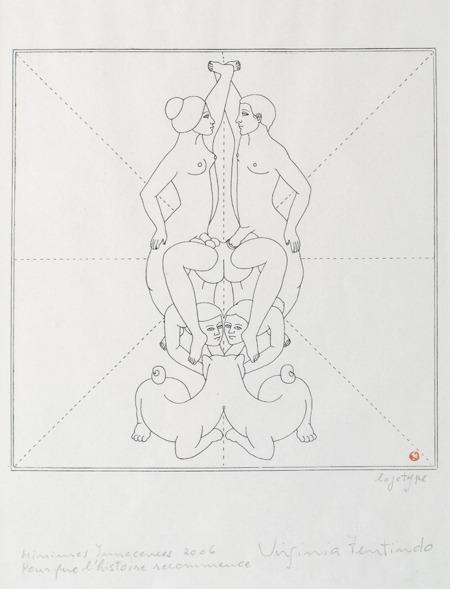 Pour que l´histoire recommence, Minimes Innacences, 42 x 33 cm, 2006