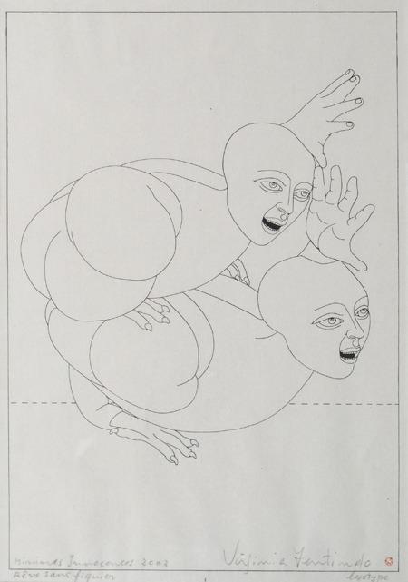Eve Sans Figuier, Minimes Innacences, logotipo, 42 x 33 cm, 2002