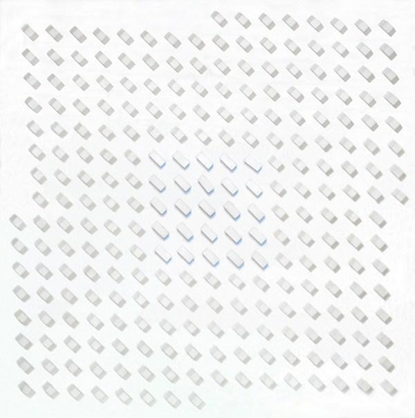 Atmosphere Chromoplastique, nº 159, relieve, 80 x 80 x 85 cm, 1966