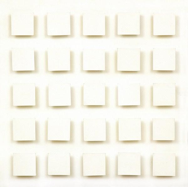 Atmosphere Chromoplastique nº 200 A, relieve, 64 x 64 x 5cm, 1968