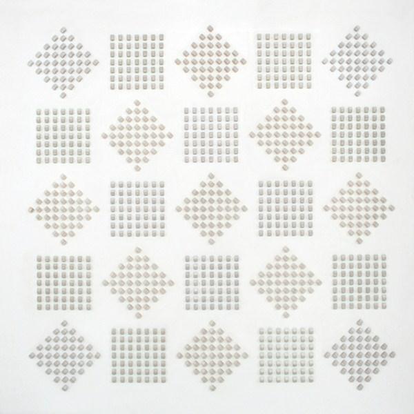 Atmosphere Chromoplastique, nº 332, relieve, 180 x 180 x 11 cm, 1973