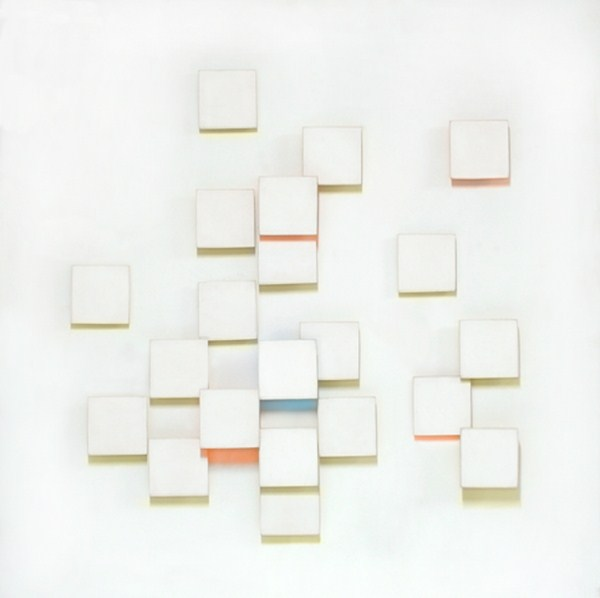 Atmosphere Chromoplastique nº 372, relieve, 80 x 80 x 9 cm, 1975