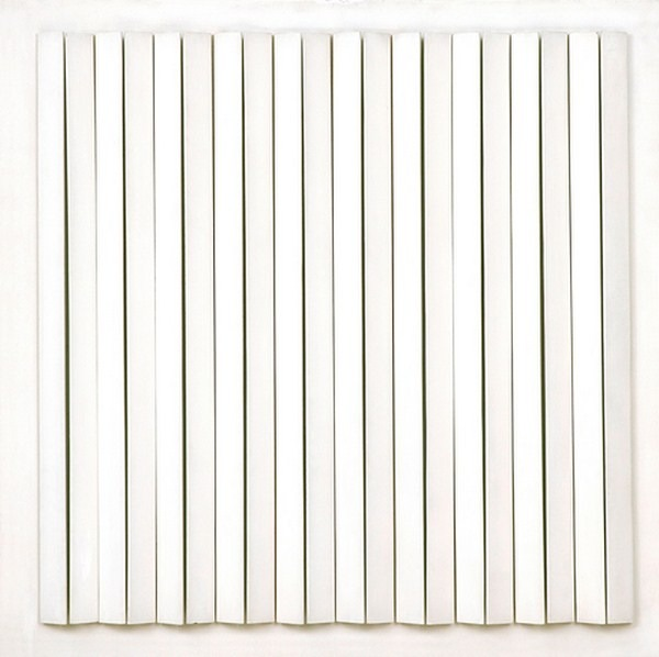 Atmosphere Chromoplastique, nº 401, relieve, 90 x 90 x 8 cm, 1976